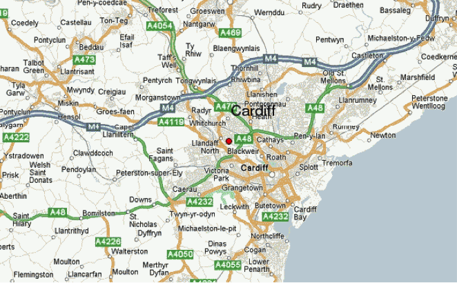 Cardiff map of areas we buy houses fast