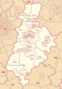 coventry map of property hot spots